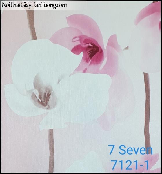 7 SEVEN, 7SEVEN, Giấy dán tường Hàn Quốc 7121-1, giấy dán tường 3D gân nhỏ, giả đá, giả gỗ, giả gạch, giả hoa đá 3D