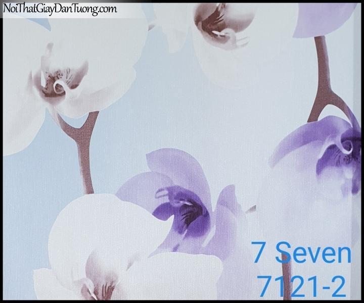 7 SEVEN, 7SEVEN, Giấy dán tường Hàn Quốc 7121-2, giấy dán tường 3D gân nhỏ, giả đá, giả gỗ, giả gạch, giả hoa đá 3D