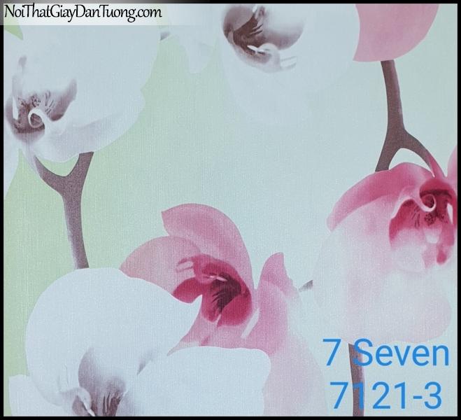 7 SEVEN, 7SEVEN, Giấy dán tường Hàn Quốc 7121-3, giấy dán tường 3D gân nhỏ, giả đá, giả gỗ, giả gạch, giả hoa đá 3D