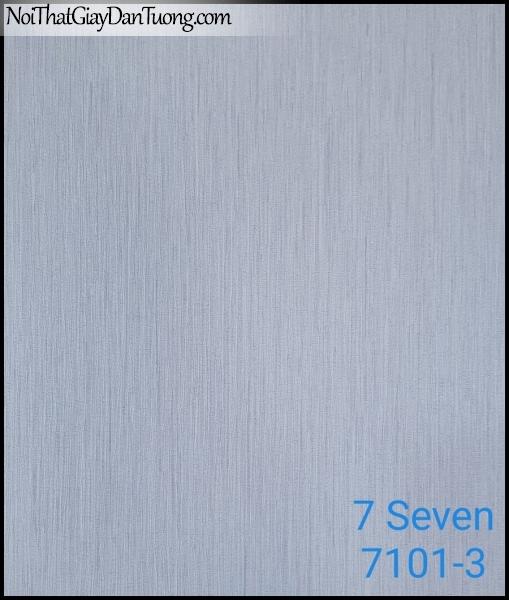 7 SEVEN, Giấy dán tường Hàn Quốc 7101-3, gân nhỏ, sọc li ti, màu nâu xám, phong cách cổ điển, xưa