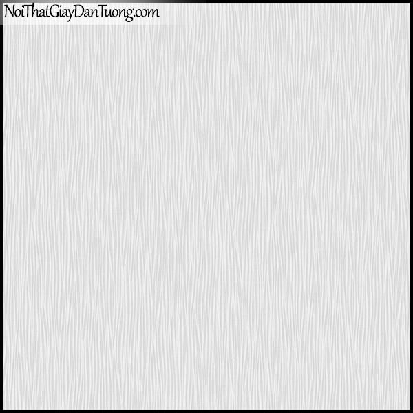 PLENUS, Giấy dán tường Hàn Quốc 2601-3, Giấy dán tường sọc nhỏ, gân li ti, màu nâu xám
