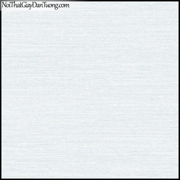 PLENUS, Giấy dán tường Hàn Quốc 2606-2, Giấy dán tường sọc ngang, gân nhỏ li ti, màu xanh xám