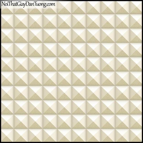 PLENUS, Giấy dán tường Hàn Quốc 2622-2, Giấy dán tường 3D giả gạch, giả đá, màu vàng cát