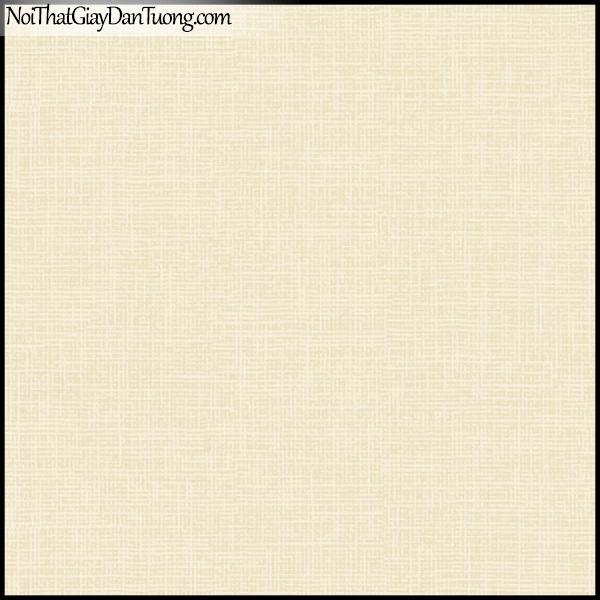PLENUS, Giấy dán tường Hàn Quốc 2629-4, Giấy dán tường sọc nhỏ, gân li ti, màu vàng kem