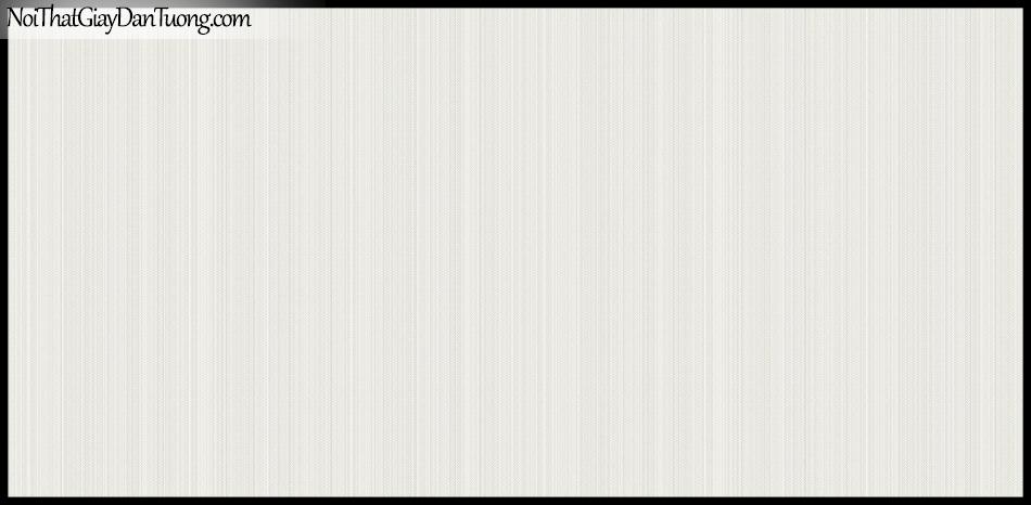 STAY, Giấy dán tường Hàn Quốc 415-1, Giấy dán tường sọc nhỏ đứng, gân li ti, màu trắng xám