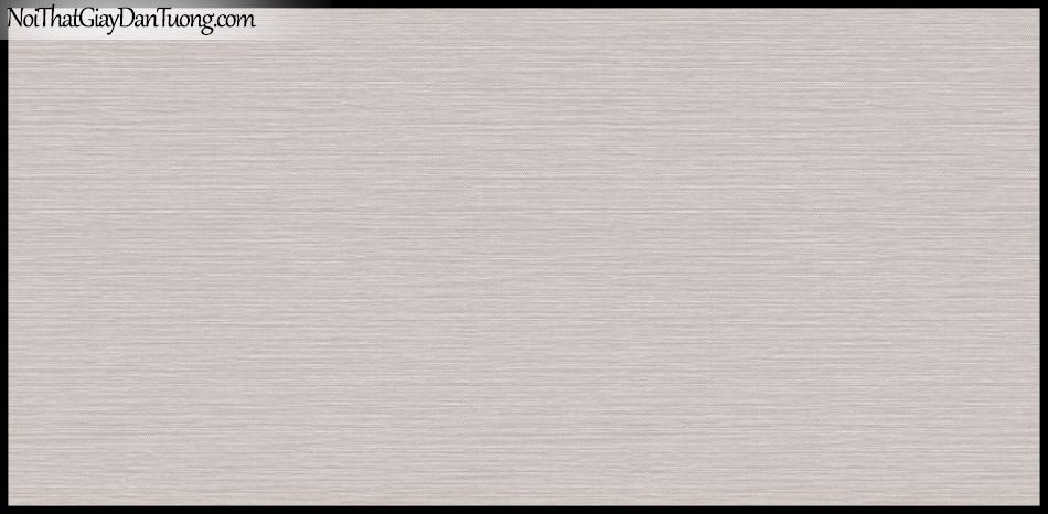 STAY, Giấy dán tường Hàn Quốc 417-3, Giấy dán tường sọc nhỏ ngang, gân li ti, màu tím xám