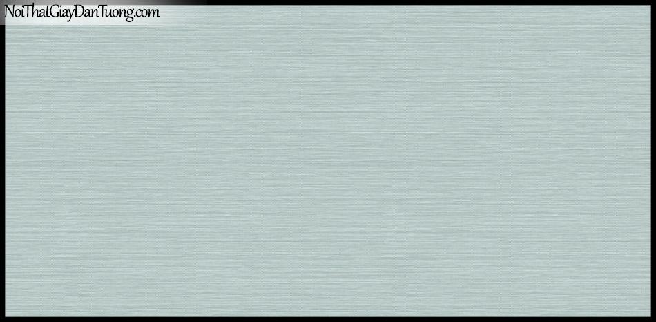 STAY, Giấy dán tường Hàn Quốc 417-4, Giấy dán tường sọc nhỏ ngang, gân li ti, màu xanh xám