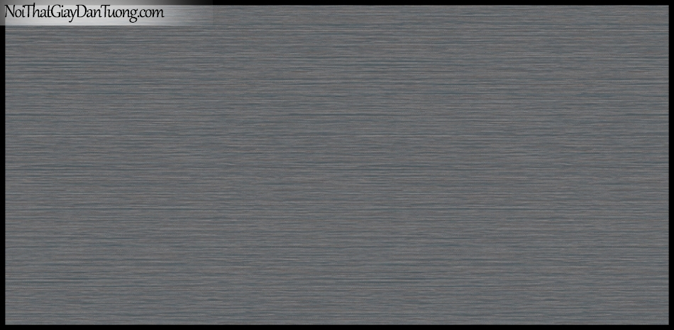 STAY, Giấy dán tường Hàn Quốc 417-5, Giấy dán tường sọc nhỏ ngang, gân li ti, màu nâu đen