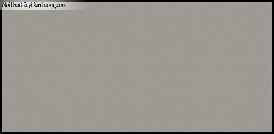 STAY, Giấy dán tường Hàn Quốc 418-4, Giấy dán tường trơn, mịn, màu nâu xám