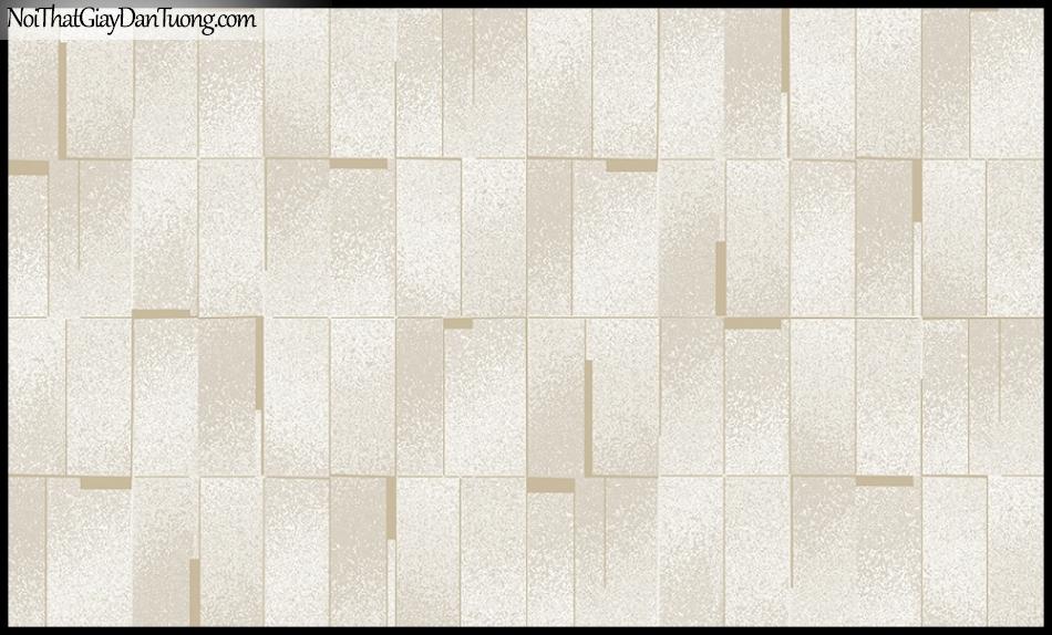 STAY, Giấy dán tường Hàn Quốc 420-2, Giấy dán tường 3D giả gạch, gân nhỏ, màu vàng cát
