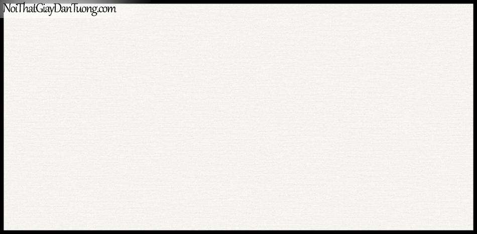 STAY, Giấy dán tường Hàn Quốc 424-1, Giấy dán tường 3D giả gạch, sọc nhỏ ngang, gân li ti, màu trắng sữa