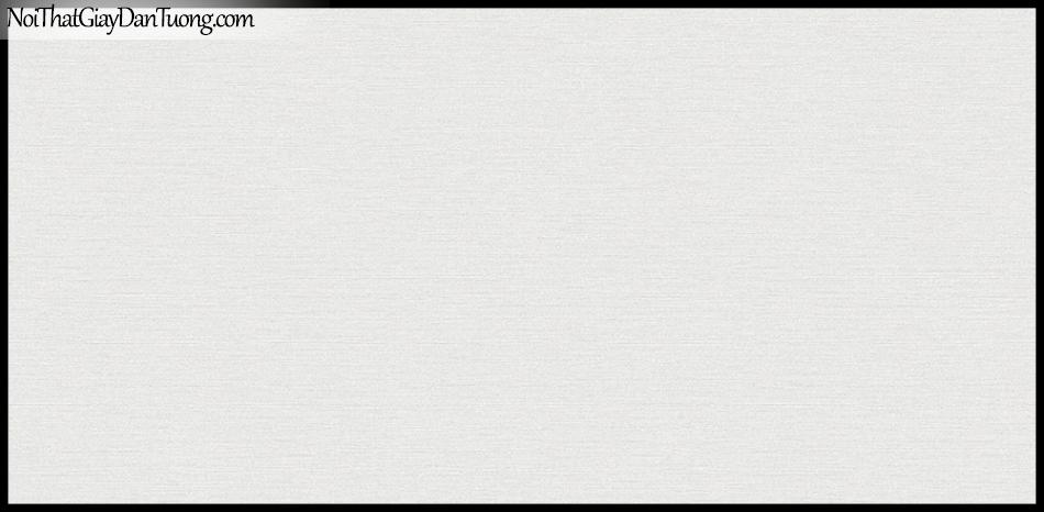 STAY, Giấy dán tường Hàn Quốc 424-2, Giấy dán tường 3D giả gạch, sọc nhỏ ngang, gân li ti, màu trắng xám