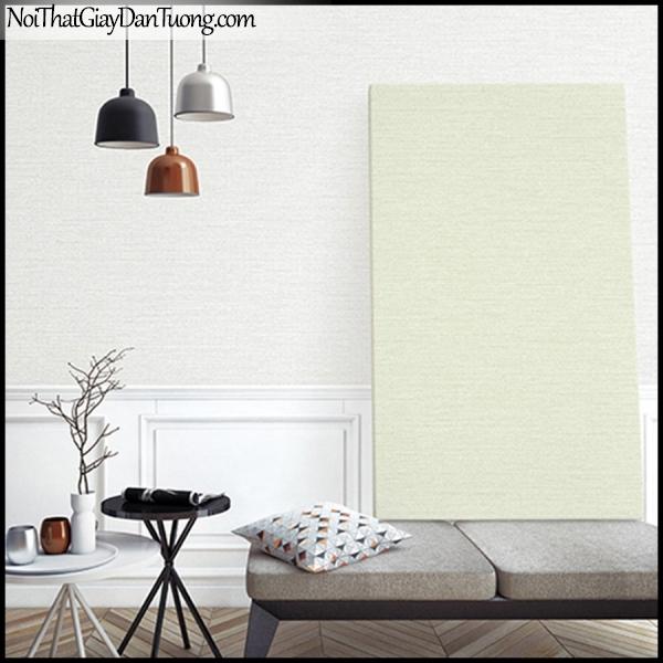 STAY, Giấy dán tường Hàn Quốc 424-3a PC, Giấy dán tường 3D giả gạch, sọc nhỏ ngang, gân li ti, màu trắng xám, phối cảnh