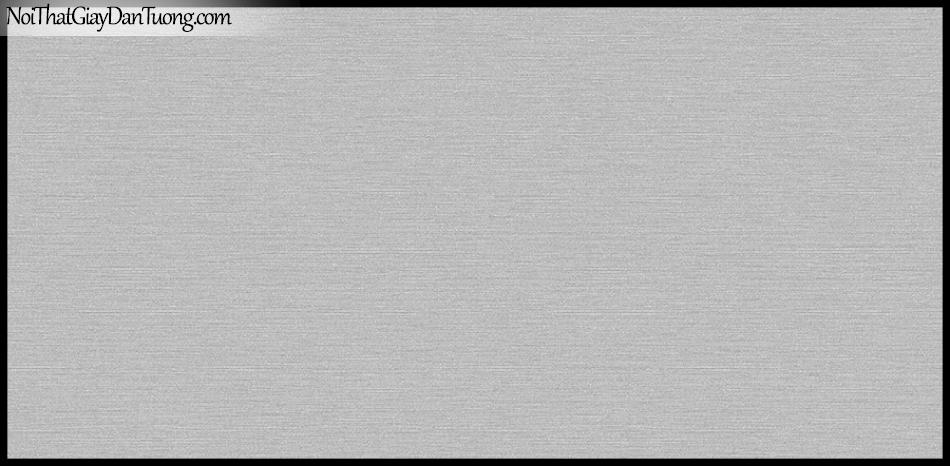 STAY, Giấy dán tường Hàn Quốc 424-4, Giấy dán tường 3D giả gạch, sọc nhỏ ngang, gân li ti, màu nâu xám