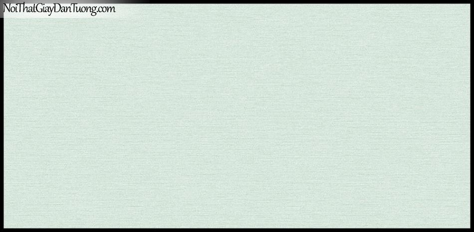 STAY, Giấy dán tường Hàn Quốc 424-7, Giấy dán tường 3D giả gạch, sọc nhỏ ngang, gân li ti, màu xanh