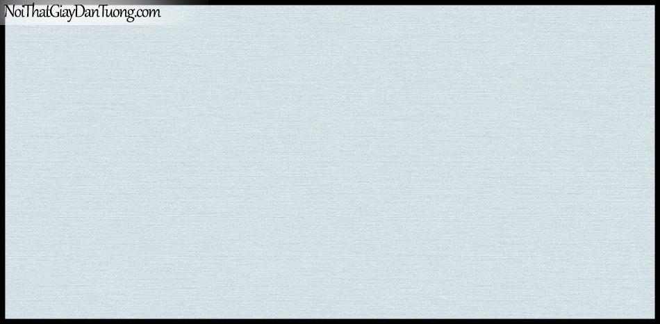 STAY, Giấy dán tường Hàn Quốc 424-8, Giấy dán tường sọc nhỏ ngang, gân li ti, màu xanh