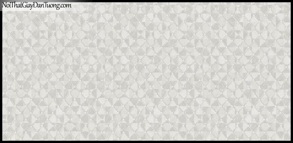 STAY, Giấy dán tường Hàn Quốc 426-1, Giấy dán tường 3D giả gạch, giả đá, vân nhỏ, màu nâu xám