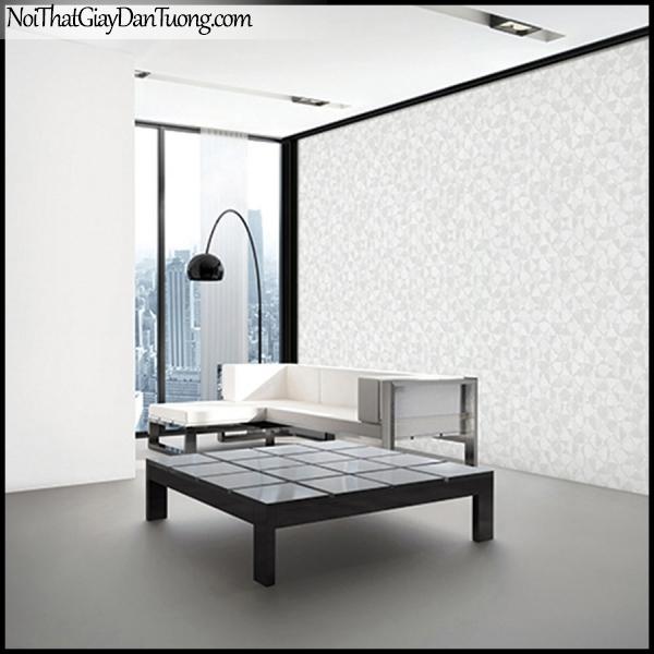 STAY, Giấy dán tường Hàn Quốc 426-1a PC, Giấy dán tường 3D giả gạch, giả đá, vân nhỏ, màu nâu xám, phối cảnh