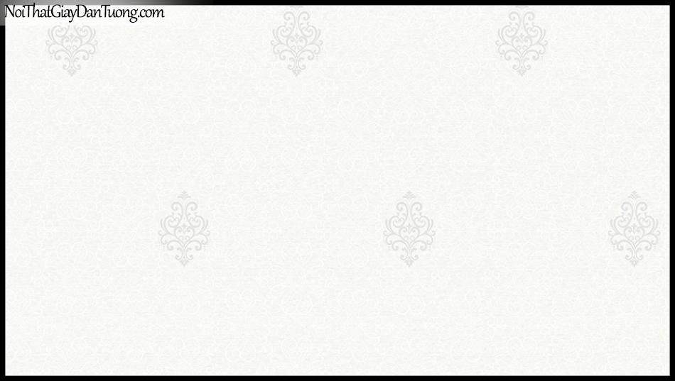 STAY, Giấy dán tường Hàn Quốc 427-1, Giấy dán tường 3D giả gạch, họa tiết hoa văn Châu Âu cổ điển