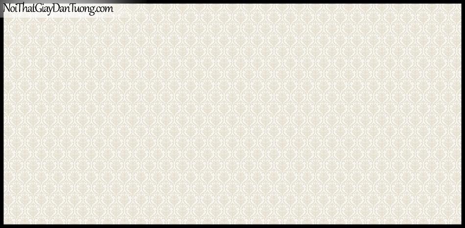 STAY, Giấy dán tường Hàn Quốc 428-1, Giấy dán tường 3D giả gạch, họa tiết hoa văn Châu Âu cổ điển