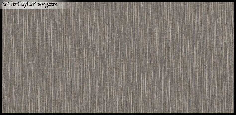 PLACE 3 (III), Giấy dán tường Hàn Quốc 2639-3, Giấy dán tường sọc đứng, gân nhỏ li ti, màu nâu xám