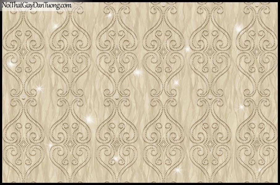 PLACE 3 (III), Giấy dán tường Hàn Quốc 2640-2, Giấy dán tường 3D họa tiết hoa văn cổ điển Châu Âu
