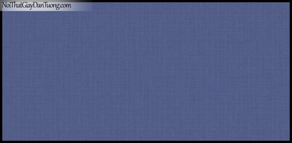 PLACE 3 (III), Giấy dán tường Hàn Quốc 2643-4, Giấy dán tường trơn, mịn, đơn giản, màu xanh dương