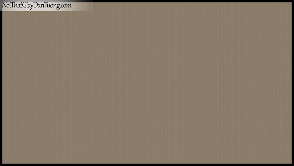 PLACE 3 (III), Giấy dán tường Hàn Quốc 2645-4, Giấy dán tường sọc đứng, gân nhỏ li ti, màu nâu đất