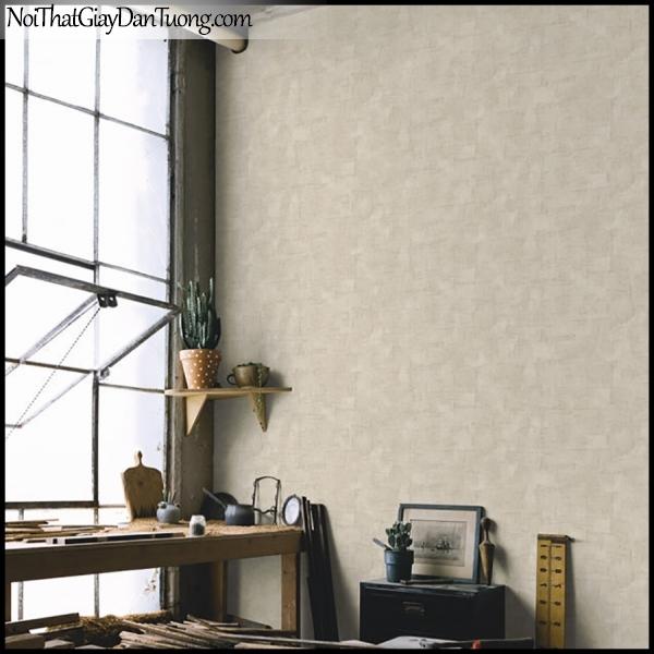 PLACE 3 (III), Giấy dán tường Hàn Quốc 2650-2m PC, Giấy dán tường 3D giả gỗ, vân gỗ, màu nâu xám, phối cảnh