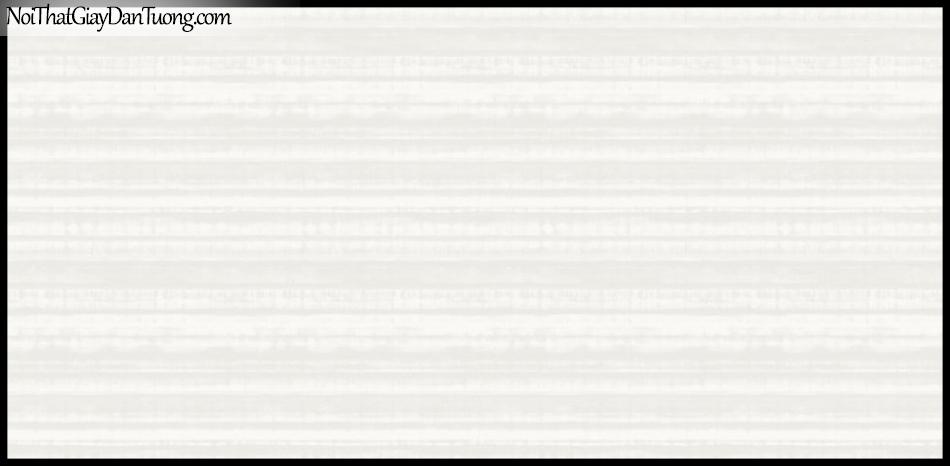 PLACE 3 (III), Giấy dán tường Hàn Quốc 2654-1, Giấy dán tường 3D họa tiết, vân kẻ,sọc ngang, màu trắng sữa