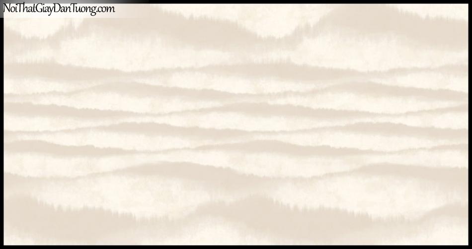 PLACE 3 (III), Giấy dán tường Hàn Quốc 2655-3, Giấy dán tường 3D họa tiết, vân kẻ, hình đám mây, màu xám