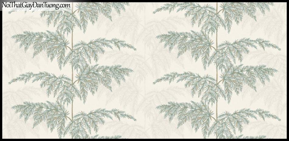 PLACE 3 (III), Giấy dán tường Hàn Quốc 2657-1, Giấy dán tường 3D họa tiết cây xanh