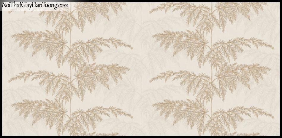 PLACE 3 (III), Giấy dán tường Hàn Quốc 2657-2, Giấy dán tường 3D họa tiết cây màu xám