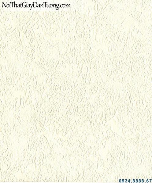 ALISHA, Giấy dán tường gân màu vàng kem, giấy trơn, giấy gân lớn, giấy dán tường hiện đại 3923-2