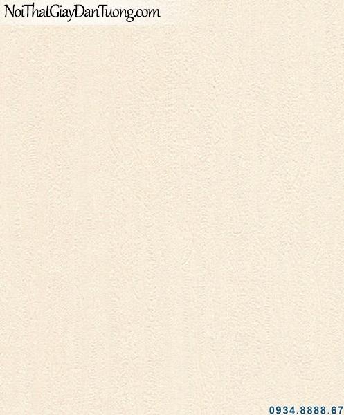 ALISHA, Giấy dán tường gân nhỏ màu vàng kem, giấy gân trơn màu vàng nhạt 3928-2