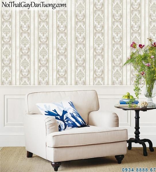 ALISHA, Giấy dán tường phối cảnh, không gian nội thất đẹp, giấy dán tường hoa văn phòng ngủ 3922-2