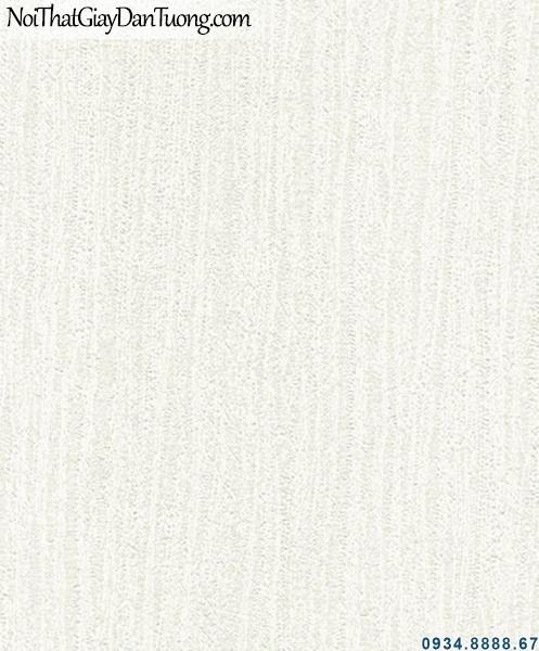ALISHA, Giấy dán tường trắng xám nhạt, giấy gân không có hoa văn họa tiết, giấy gân trơn 3928-1