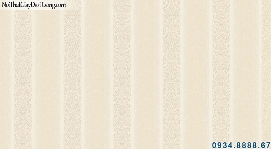 ALISHA, Giấy dán tường sọc, giấy sọc vàng, sọc vàng kem, nhận thi công giấy dán tường tphcm 3933-3