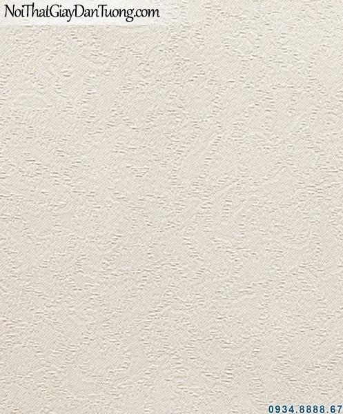 ALISHA, Giấy dán tường gân nhuyễn, giấy trơn 3937-1, giấy dán tường màu kem