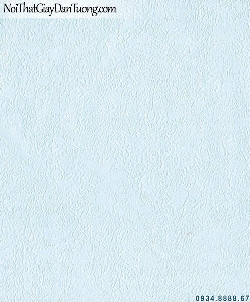 ALISHA, Giấy dán tường trơn gân xanh dương, xanh nhạt, xanh bầu trời, nước biển 3942-1