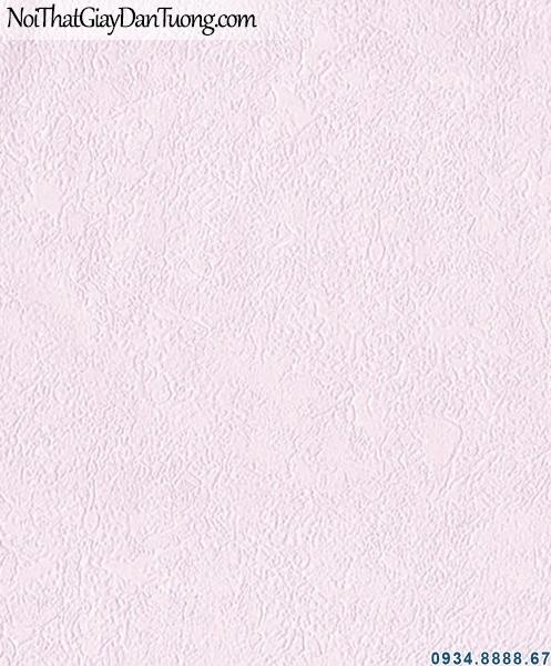 ALISHA, Giấy dán tường trơn màu hồng tím, hồng nhạt, giấy trơn gân 3942-3