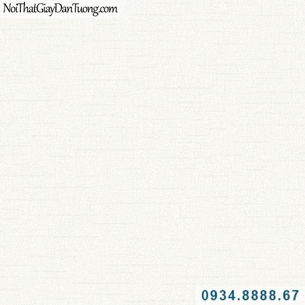 Giấy dán tường Hàn Quốc ARTBOOK, giấy dán tường màu kem trơn có sọc nhỏ chạy ngang đứt quãng 57153-1, sử dụng nhiều trong căn hộ hiện đại