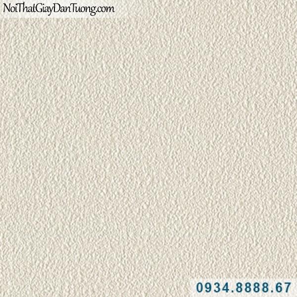 Giấy dán tường Hàn Quốc ARTBOOK, giấy gân trơn màu vàng kem, vàng nhạt có gân 57160-2