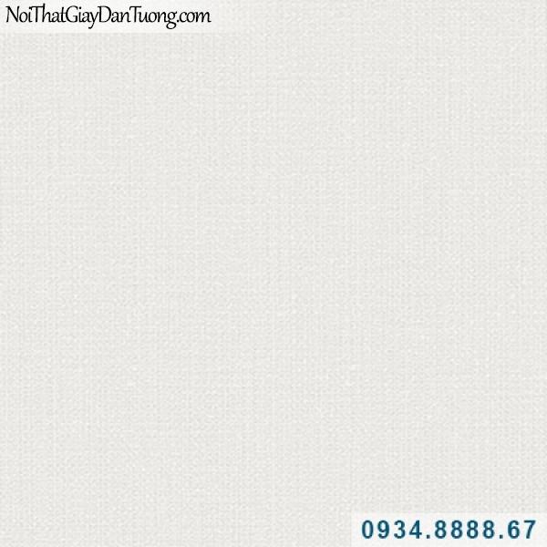 Giấy dán tường Hàn Quốc ARTBOOK, giấy trơn gân màu trắng xám, trắng kem nhạt 57173-1