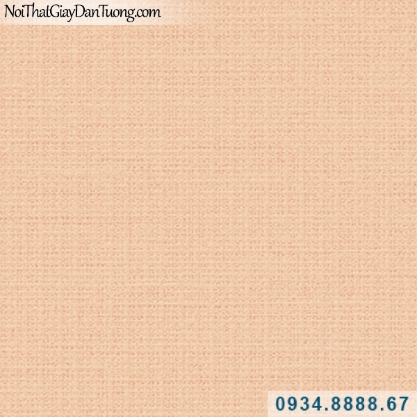 Giấy dán tường Hàn Quốc ARTBOOK, giấy dán tường gân ca rô, gân vuông, sọc ngang sọc dọc, gân nhuyễn, màu cam 57186-4