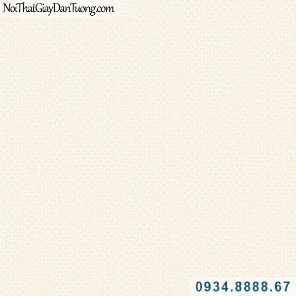 Giấy dán tường Hàn Quốc ARTBOOK, giấy dán tường gân hình tổ ong màu kem 57184-7