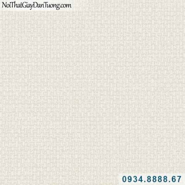Giấy dán tường Hàn Quốc ARTBOOK, giấy dán tường gân ngang dọc kiểu vải bố màu kem 57185-2