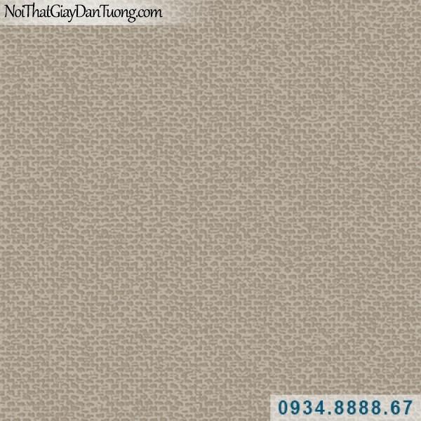 Giấy dán tường Hàn Quốc ARTBOOK, giấy dán tường gân nhuyễn hình tổ ong nhỏ màu xám nâu kem vàng 57184-5