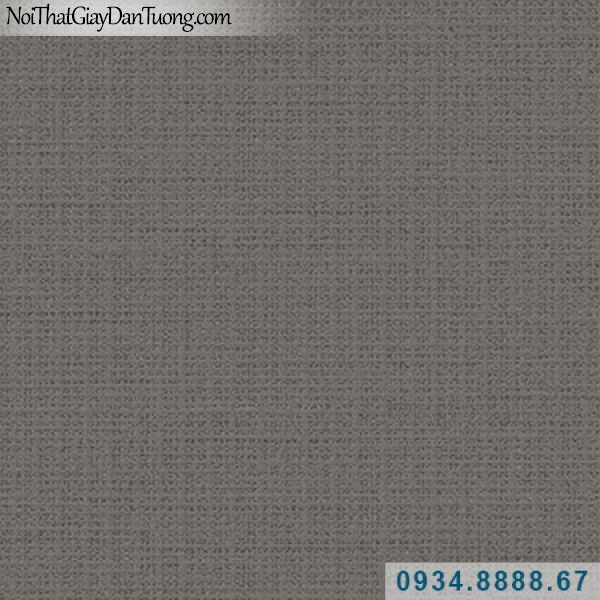 Giấy dán tường Hàn Quốc ARTBOOK, giấy dán tường gân sẫm, màu tối, nâu sẫm 57186-10