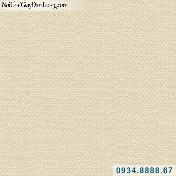 Giấy dán tường Hàn Quốc ARTBOOK, giấy dán tường gân tổ ong màu vàng 57184-8